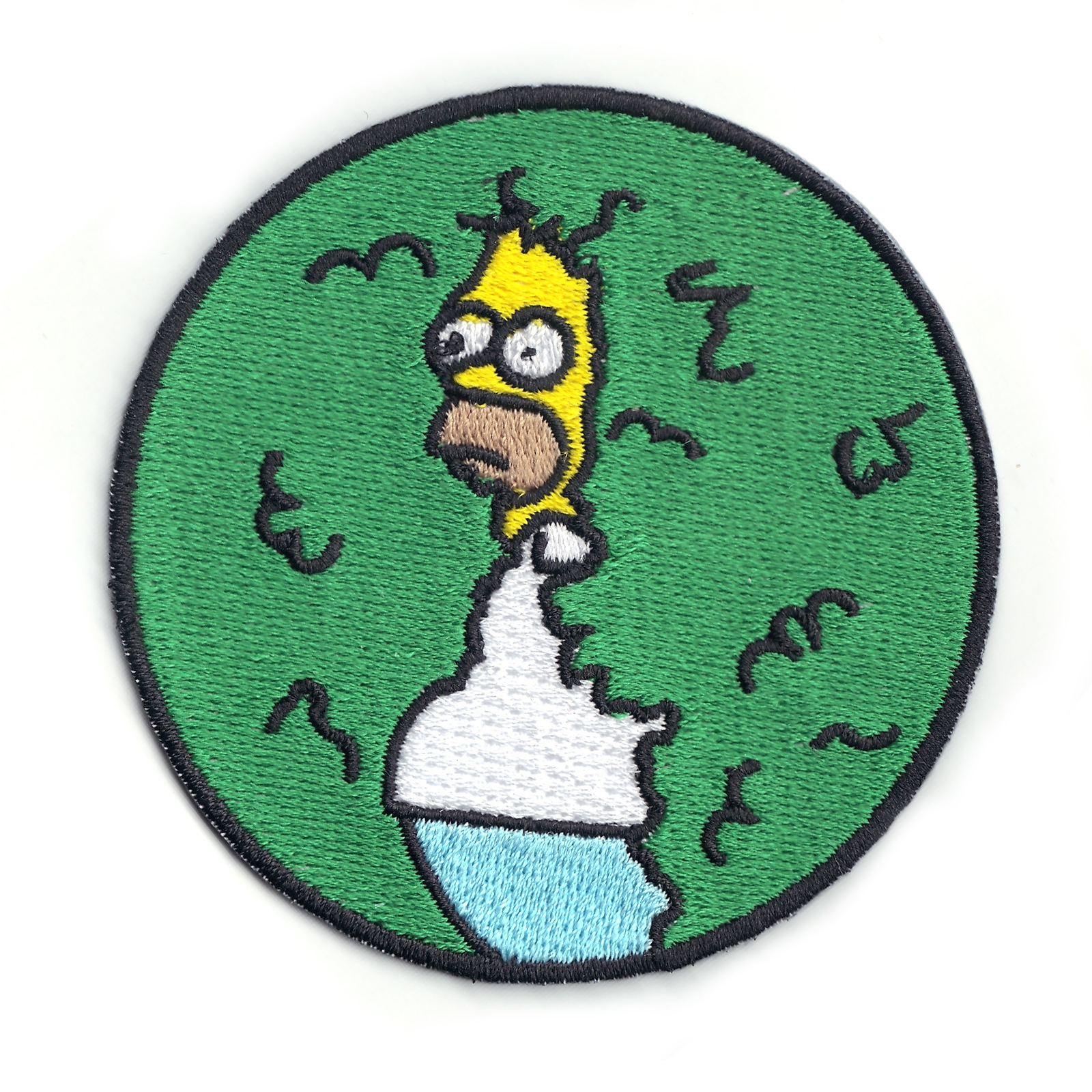 They Will Never Find Me Logo Iron On Patch