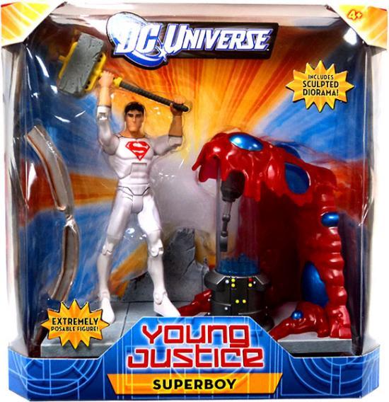 DC Universe Young Justice Superboy Action Figure [Solar Suit] W7722