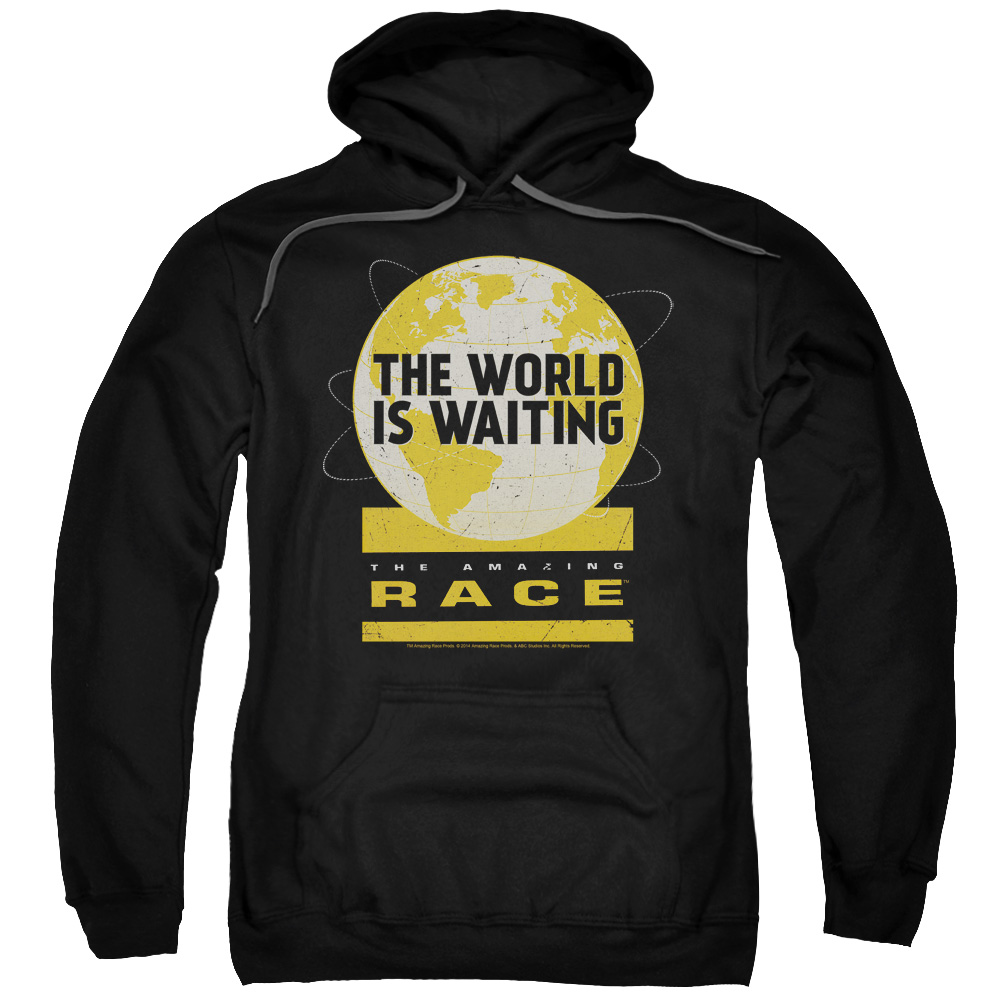 The Amazing Race Waiting World Mens Pullover Hoodie