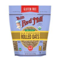 Bob's Red Mill Gluten Free Organic Rolled Oats, Old Fashioned, 32 Ounce