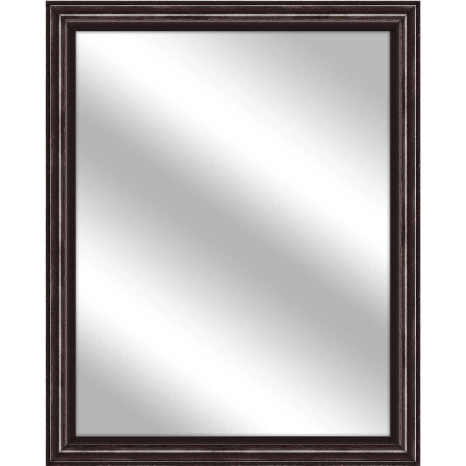 Vanity Mirror, Brown, 25x31 by PTM Images