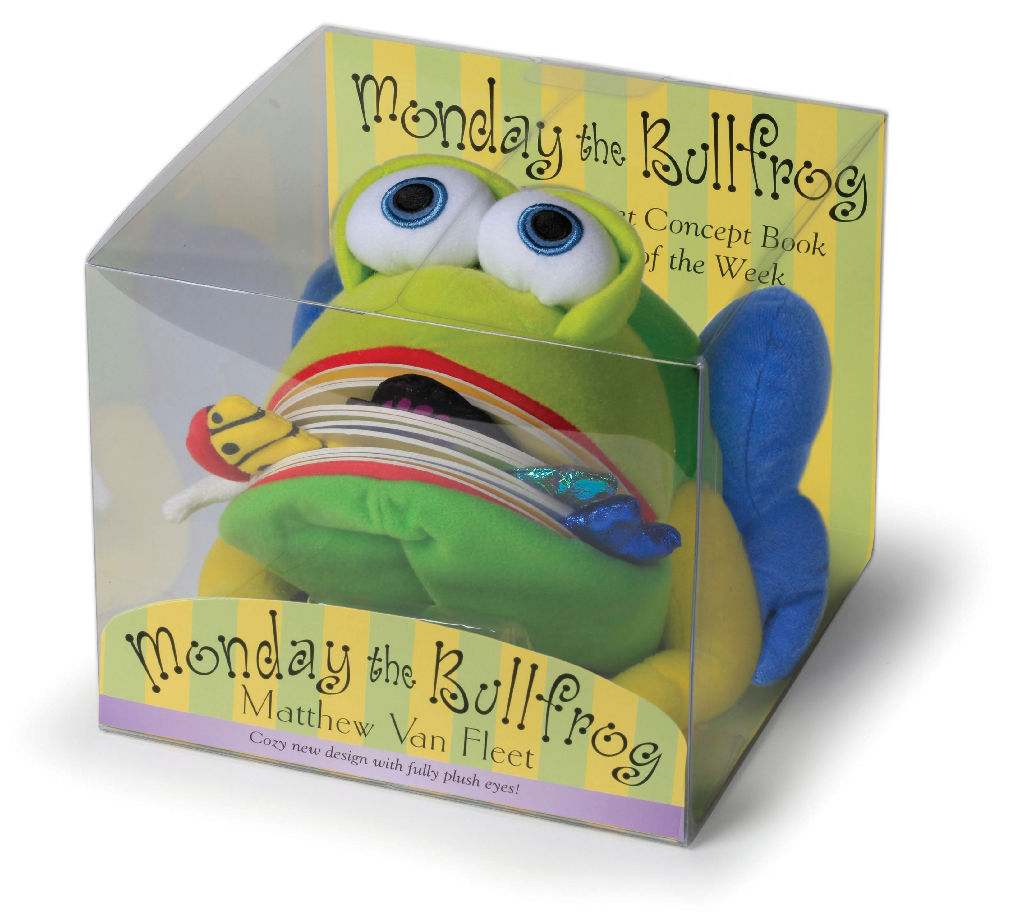 Monday the Bullfrog : A Huggable Puppet Concept Book About the Days of the Week