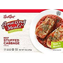 (Meal Mart Beef Stuffed Cabbage In Gravy 12 Oz. Pack Of 3.)