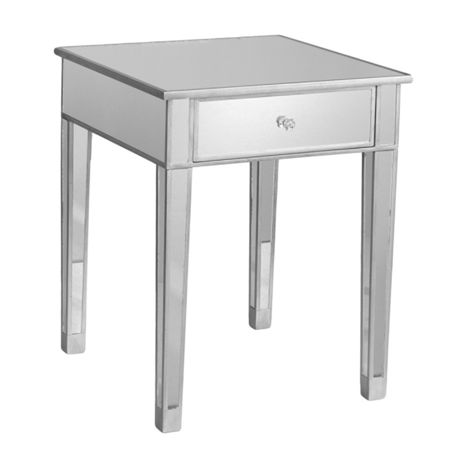 Southern Enterprises Bardot Mirrored Accent table by LIVEDITOR LIGHTING