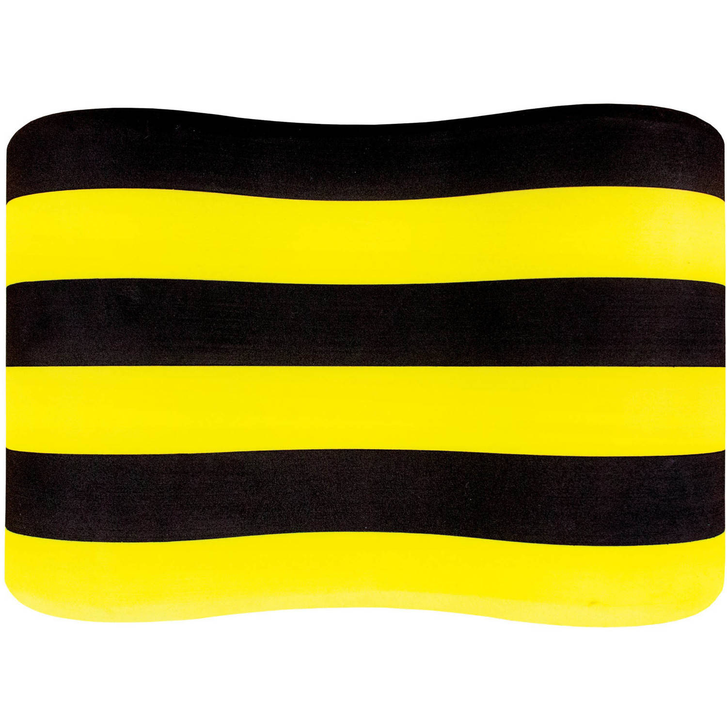 FINIS Foam Pull Buoy in Black and Yellow, Senior Size