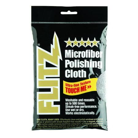 Silver Microfiber Polishing Cloth (MC200 Thick 'n Thirsty 16