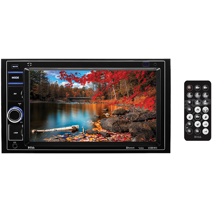 "Boss Audio Bv9349b 6.2"" Double-din In-dash Digital Media Am/fm Receiver With"