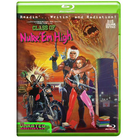 Class of Nuke 'Em High (Blu-ray) (Class Of Nuke Em High Blu Ray)