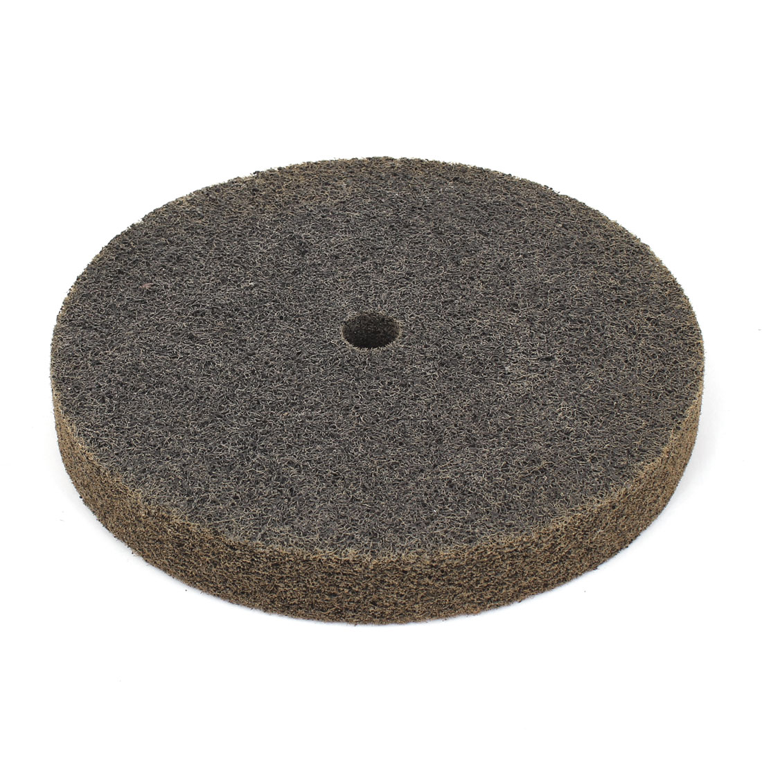 "Unique Bargains Olive Green Nylon Fiber 60 Grit 8"" x 1"" Cylindrical Abrasives Grinding Wheel"