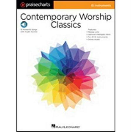 Hal Leonard Contemporary Worship Classics-Eb Instruments Melody + Part-Audio Online
