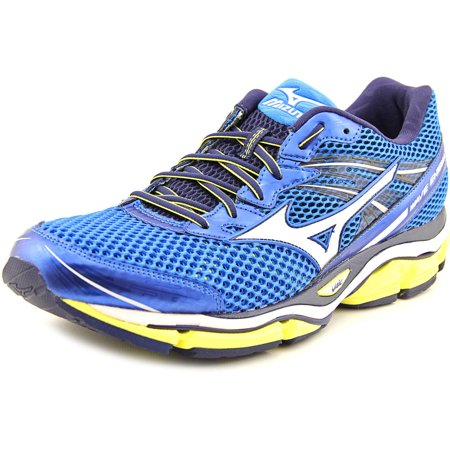 mizuno mizuno wave enigma 5 men round toe synthetic blue running shoe. Black Bedroom Furniture Sets. Home Design Ideas
