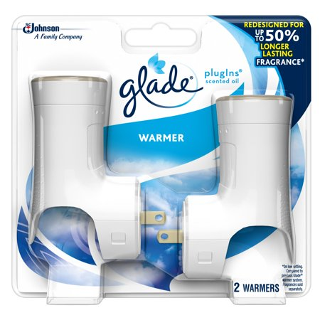 Glade Plugins Scented Oil Warmer Holds Essential Oil