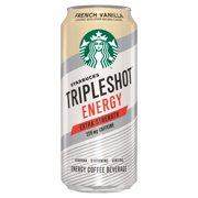 Starbucks Tripleshot Energy Extra Strength French Vanilla Energy Coffee Beverage, 15 fl oz