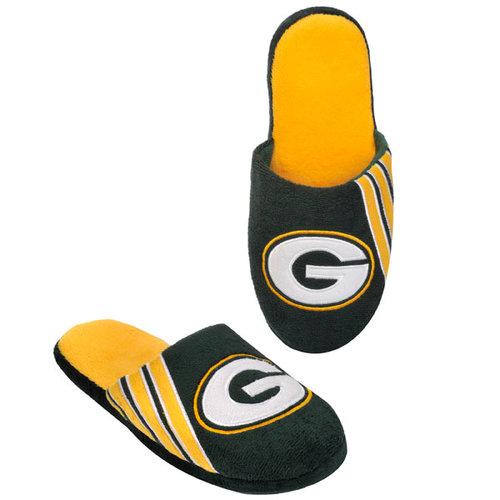 NFL - Green Bay Packers Hard Sole Stripe Slipper