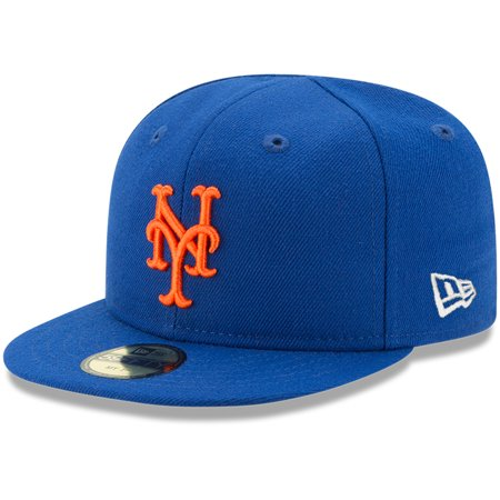 New York Mets New Era Infant Authentic Collection On-Field My First 59FIFTY Fitted Hat - Royal - 6 (New Era Infant Bulls)