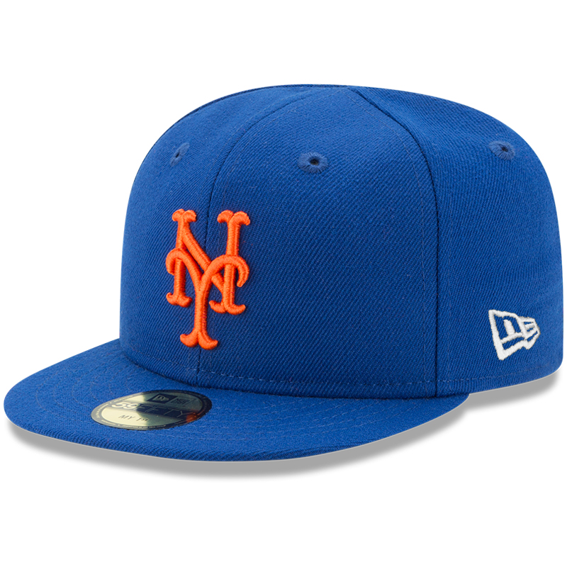 New York Mets New Era Infant Authentic Collection On-Field My First 59FIFTY Fitted Hat - Royal - 6