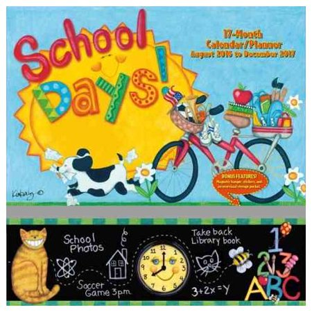 School Days 17 Month 2017 Calendar