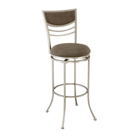 30u0022 Amherst Swivel Barstool Metal/Champagne - Hillsdale Furniture