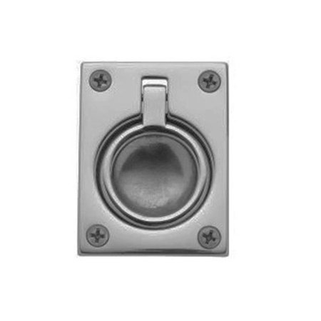 Baldwin 0394150 Flush Ring Door Pull for Sliding Doors, Satin Nickel Baldwin Brass Sliding Door Pull