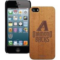 Arizona Diamondbacks Wooden iPhone 5 Primary Case - No Size