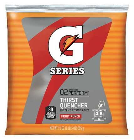 Gatorade Sports Drink Mix Powder, Fruit Punch 21 oz., 33691