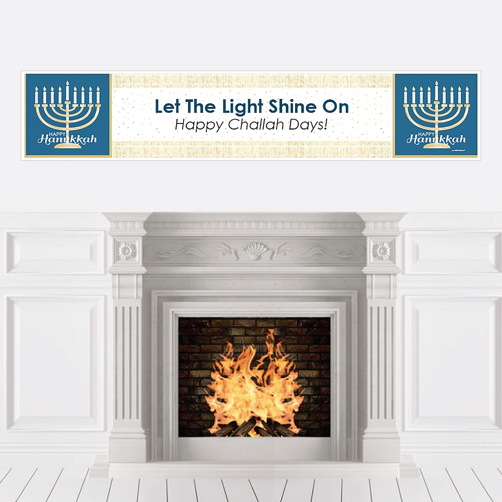 Hanukkah - Chanukah Party Decorations Party Banner