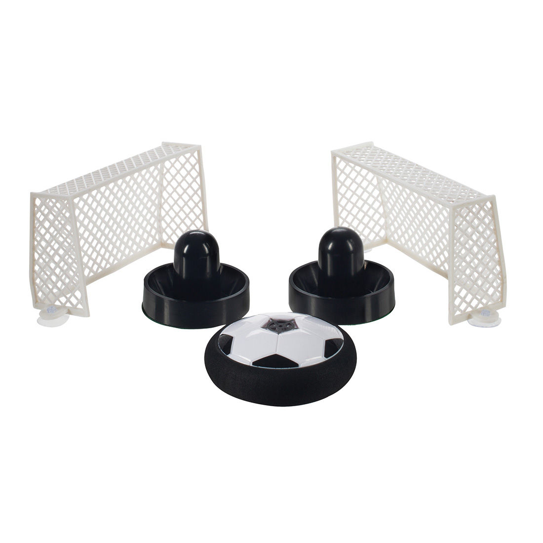 Alta Air Hockey Soccer Tabletop Game with Nets and Soccer Style Puck Play on any Table! by Alta
