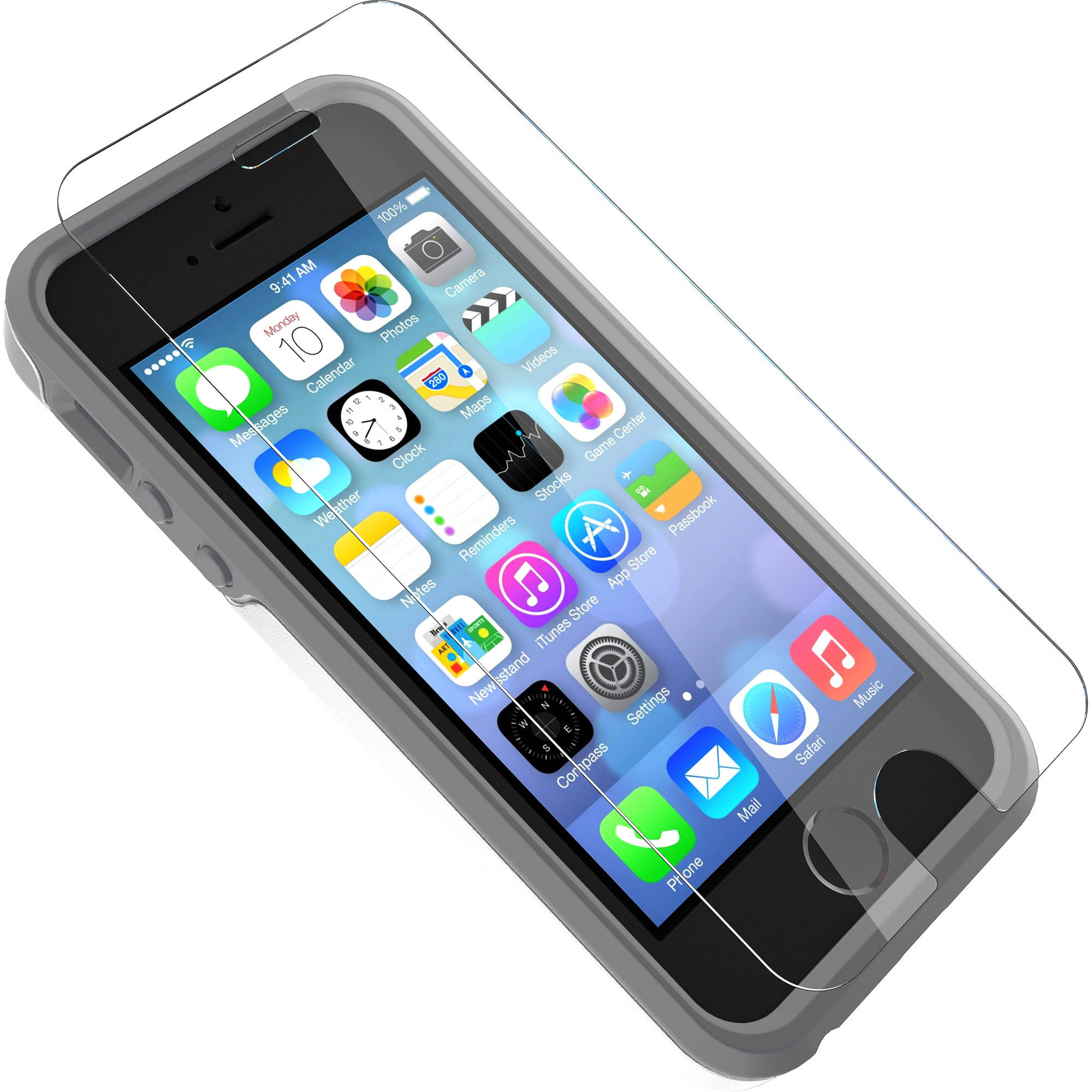 OtterBox Apple iPhone 5SE/5sE/5sc Clearly Protected Screen Protector, Alpha Glass
