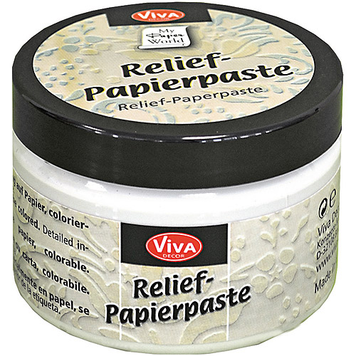 Viva Decor Relief-Paper Paste, 5oz
