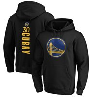 Stephen Curry Golden State Warriors Fanatics Branded Playmaker Name & Number Pullover Hoodie - Black