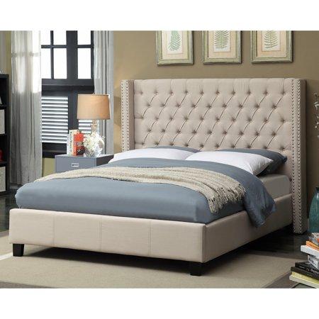 Meridian Ashton Wingback Upholstered Bed
