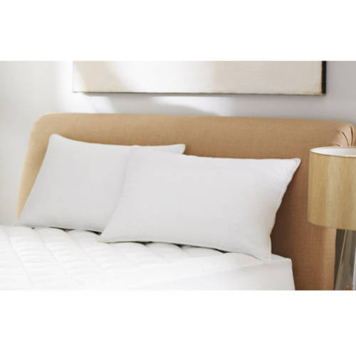 """Mainstays 100% Microfiber Pillow Twin Pack in 20"""" x 26"""