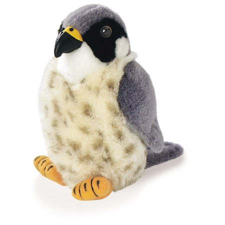 Peregrine Falcon - Audubon Plush Bird (Authentic Bird Sound), Bright detailed designs with authentic bird calls By Wild Republic