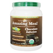 Amazing Grass - Amazing Meal Powder 30 Servings Chocolate Infusion - 34.2 oz.