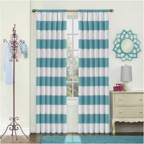 Eclipse Peabody Blackout Window Curtain Panel by Ellery Homestyles
