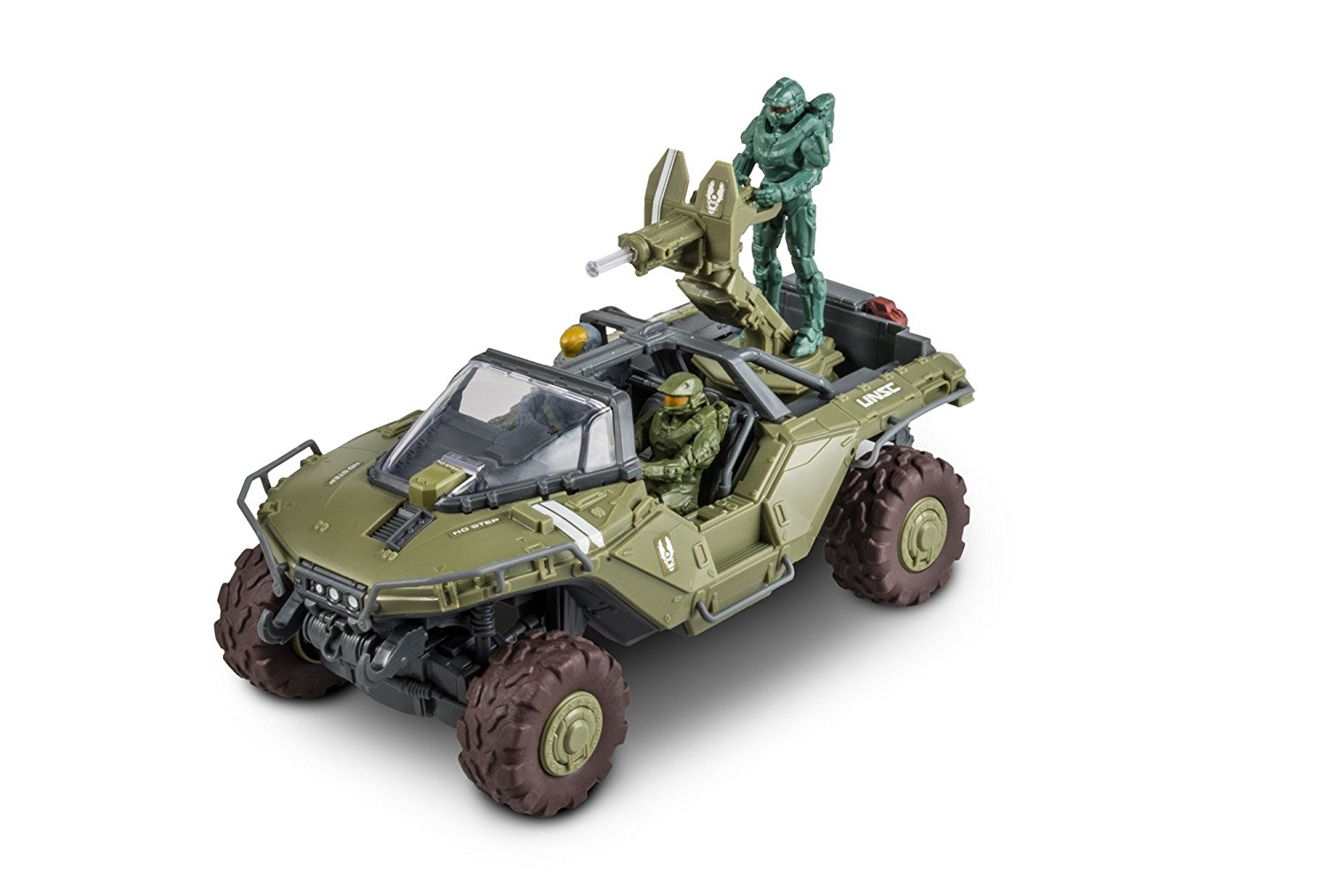 Snaptite Build and Play Halo 5 Warthog Model Kit, 53 easy Snaptite pieces, no glue, paint... by