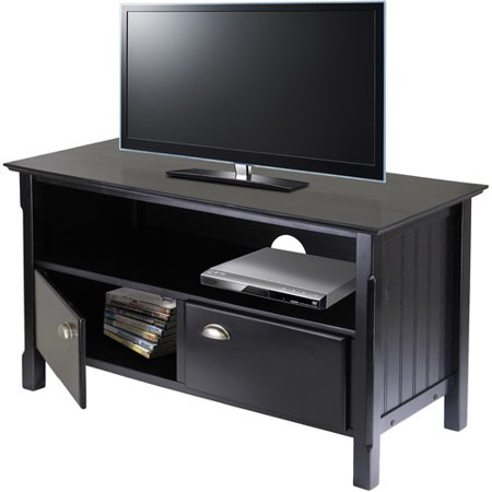 Timber Black Tv Stand  For Tvs Up To 46