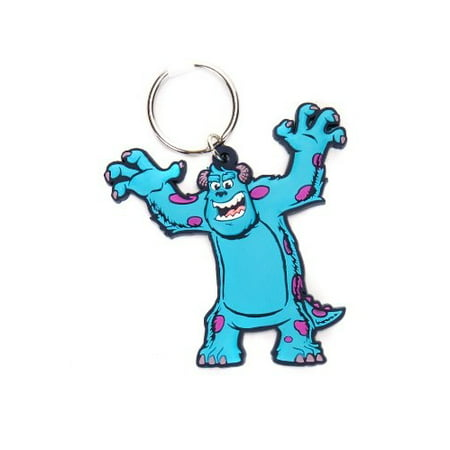 PVC Key Chain - Disney - Monster University Sulley Soft Touch Gifts Toys 21957