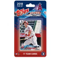 Los Angeles Angels 2018 Team Set Trading Cards - No Size