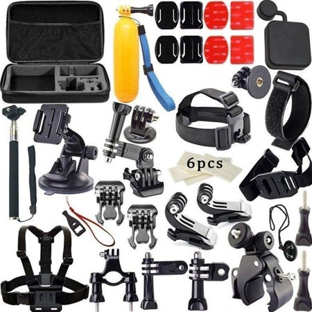Ohuhu 33 in1 Mount Kit Set Floating Monopod Accessories For GoPro Hero 1 2 3 4