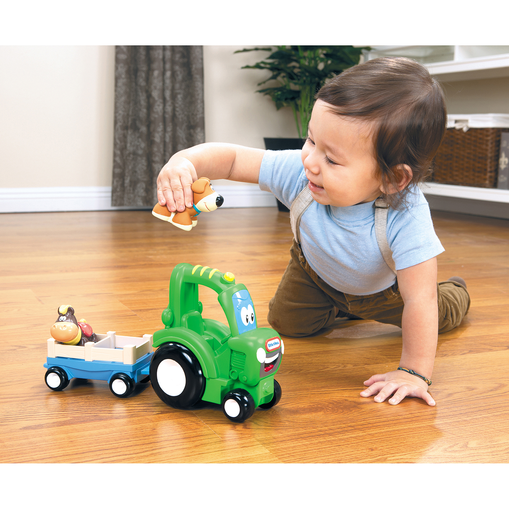 Little Tikes Deluxe Handle Haulers, Frankly Farmer by MGA Entertainment