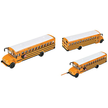 (Walthers HO Scale Vehicle International(R) CE School Bus - Yellow, White)
