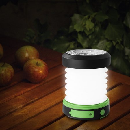 Suaoki Camping LED Lantern USB & Solar Rechargeable Collapsible Light Mini Flashlight Torch Light Water Resistant for Camping,Hiking, Fishing, Emergencies, Hurricanes, - Mini Lantern