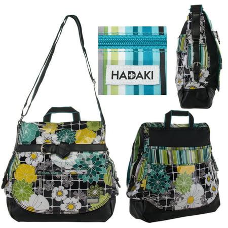 Kiko14 Designer Saddle Bag Crossbody Flap Satchel Purse Shoulder Strap ()