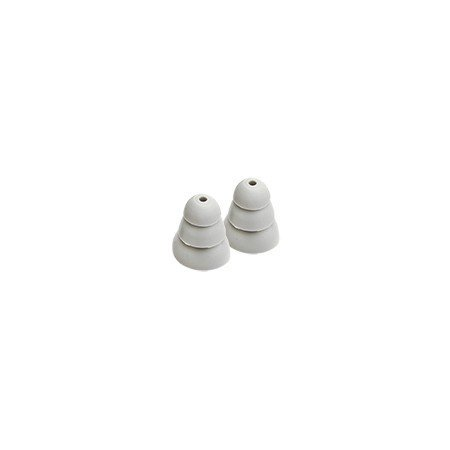 Etymotic Research ER38-18 3-Flange Replacement Eartips - 10 Pack - Gray