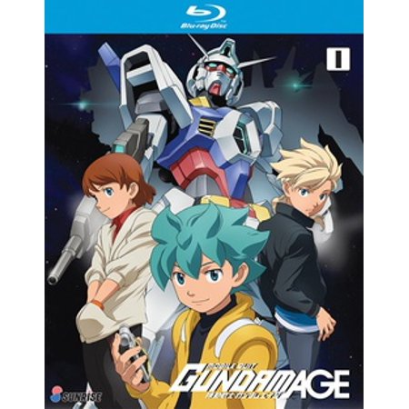 Mobile Suit Gundam Age TV Series: Collection 1 (Blu-ray)