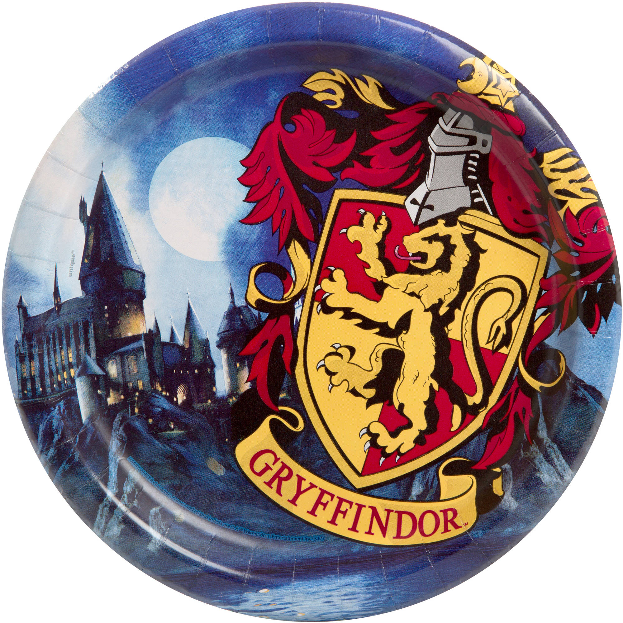 "9"" Harry Potter Round Dinner Plates, 8ct"