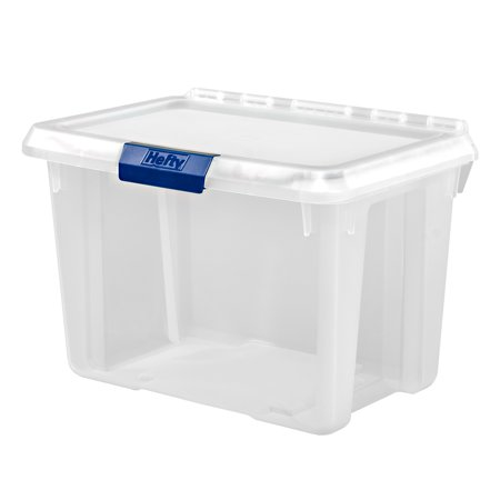 Hefty PROTECT Heavy Duty Storage, 20 Qt. Lid with Protective Seal / -