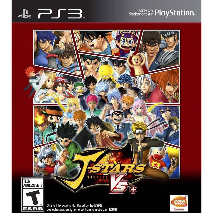 J-Stars Victory Vs+ (PS3) - Pre-Owned