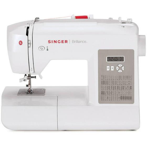 SINGER 40 Brilliance Electronic 40Stitch Sewing Machine Walmart Amazing Sewing Machine Used On Sewing Bee 2015